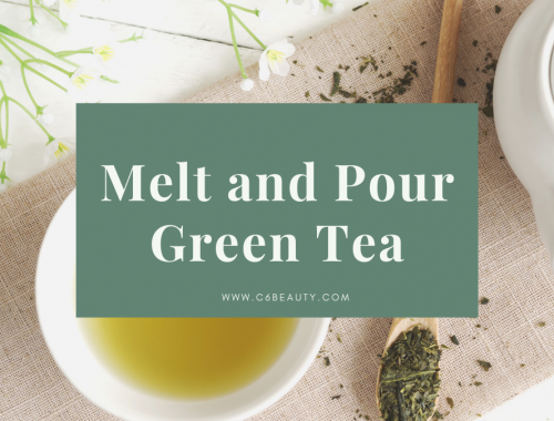 melt and pour green tea