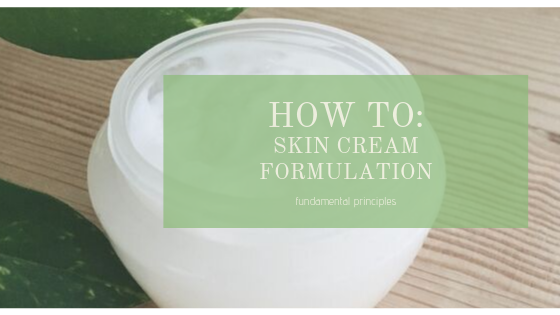 HOW TO CREAM FORMULATION
