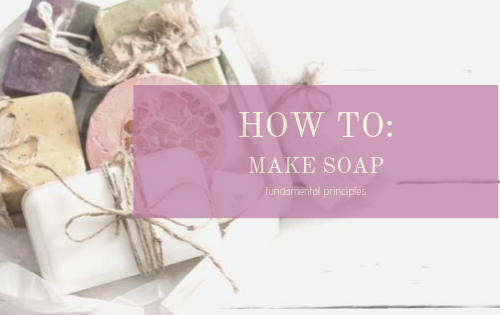 soap making how to