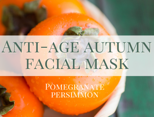 anti-age autumn facial mask