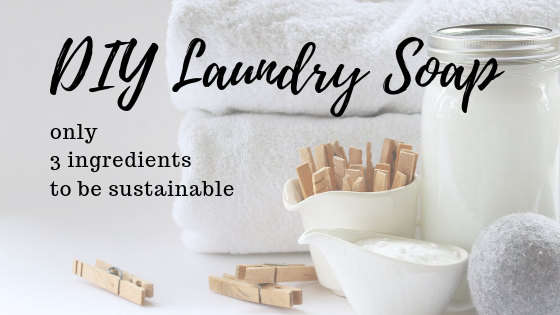 DIY laundry soap