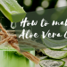 How to make aloe