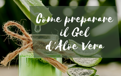 come preparare il gel aloe