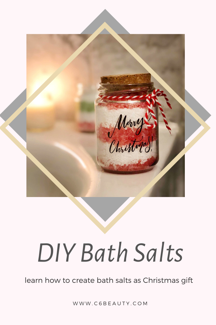 Making bath salts for Christmas is simple and fun! DIY Bath salts can recreate a perfect spa effect at home definitely not expensive. Why not try it? :)