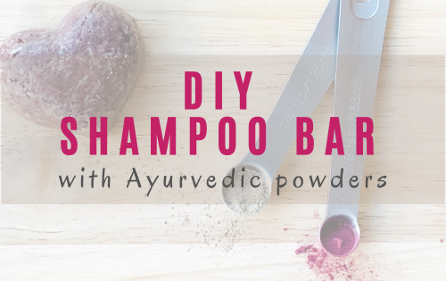 DIY shampoo bar