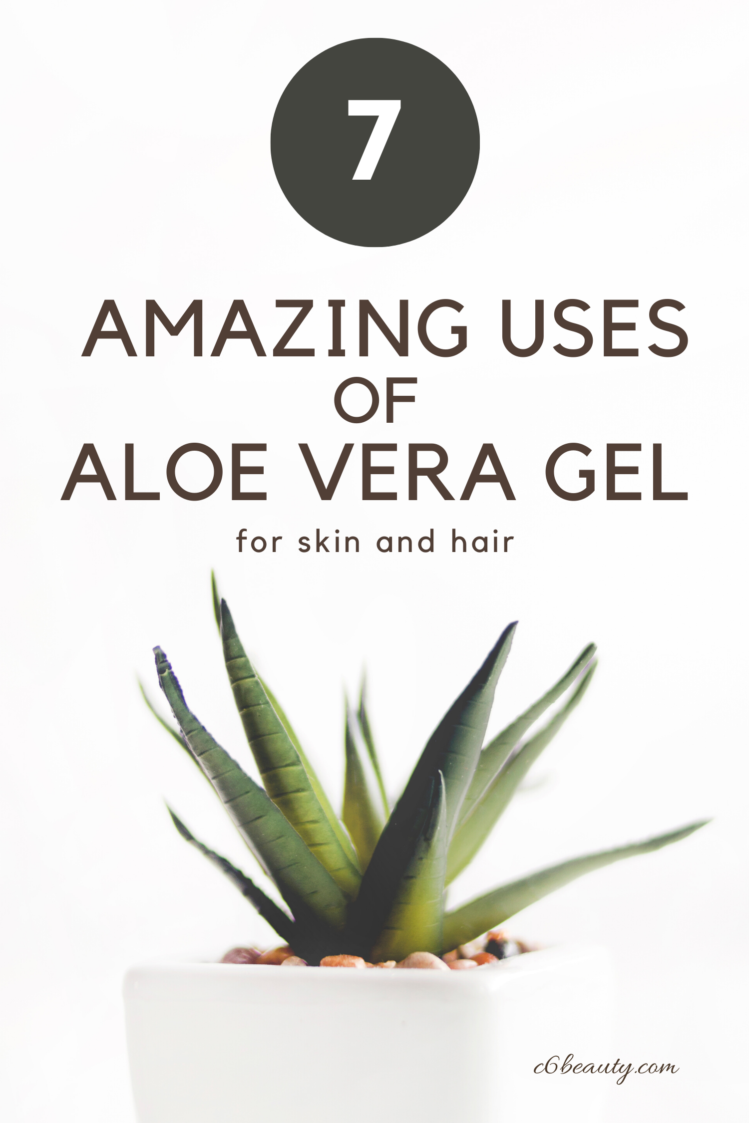 7 amazing uses of aloe vera gel for hair and skin