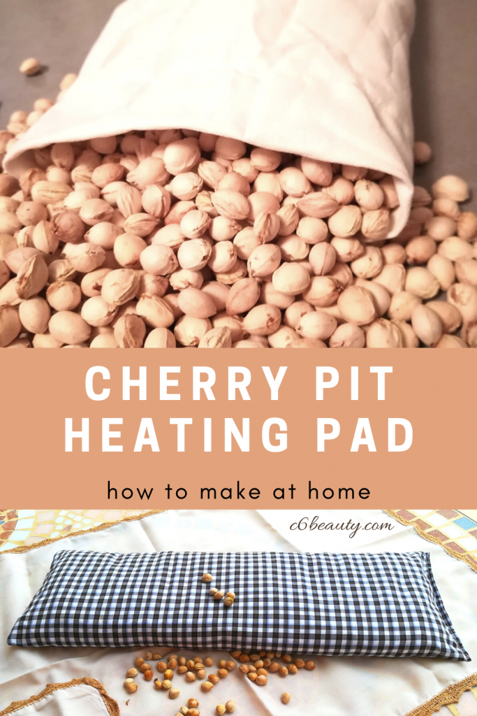 cherry pit heating pad DIY