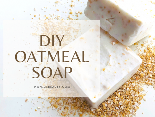 DIY OATMEAL SOAP