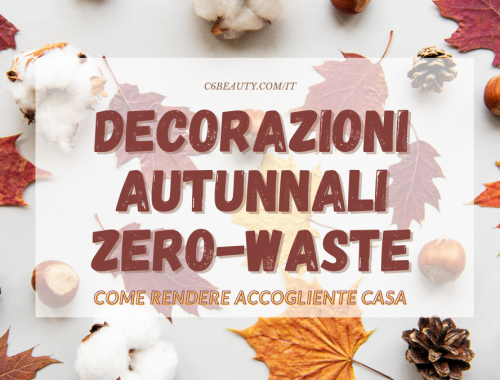 decorazioni autunnali zero waste