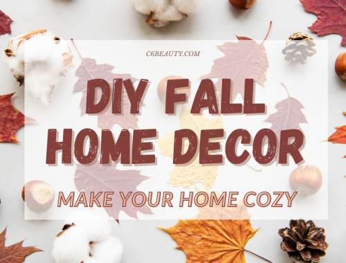 diy fall home decor