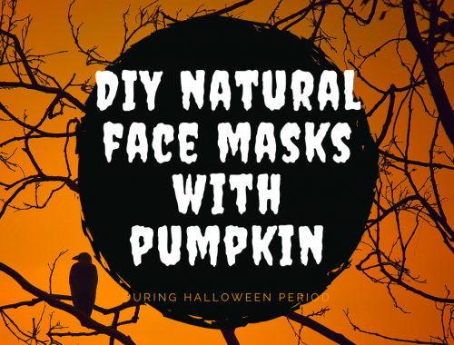 DIY natural face masks pumpkin