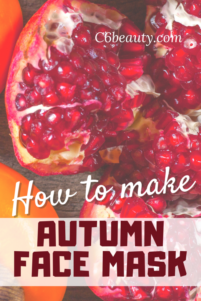 how to make face mask in autumn