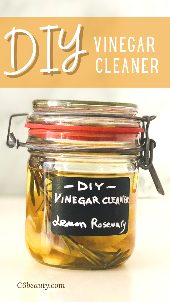 DIY Vinegar Cleaner That Actually Smells Great