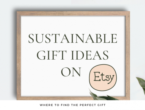 sustainable gift ideas on etsy