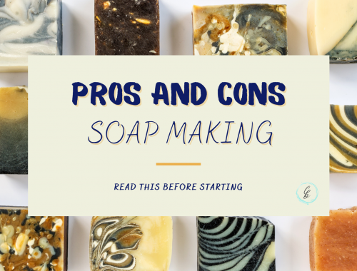 pros cons soap making