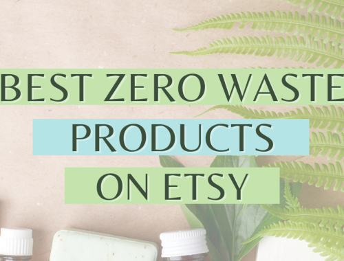 best zero waste products on Etsy